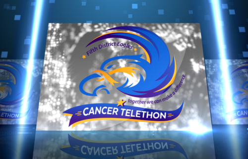 Eagles Cancer Telethon graphic