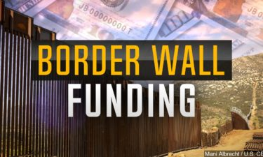 Border Wall Funding graphic