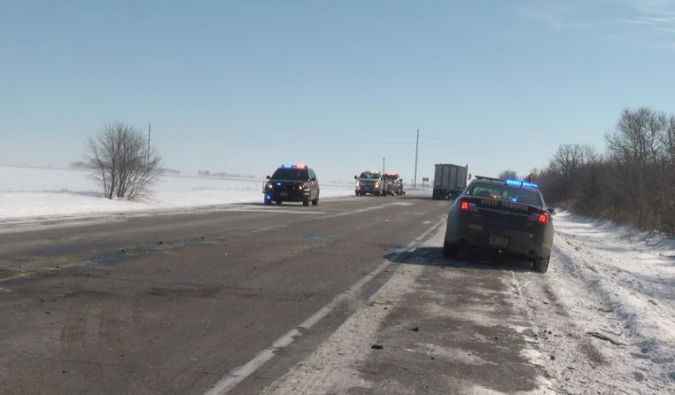 Accident on Highway 218