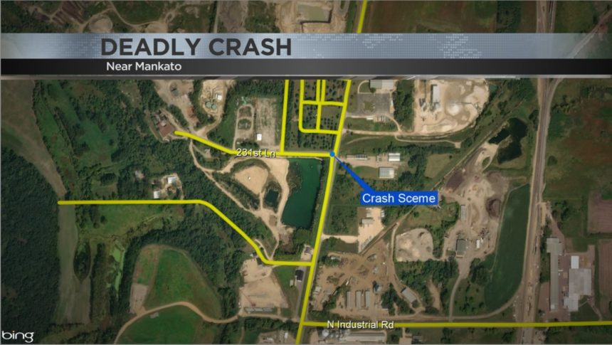 Map of crash location