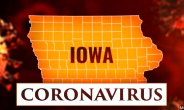 IOWA CORONAVIRUS COVID-19 GRAPHIC