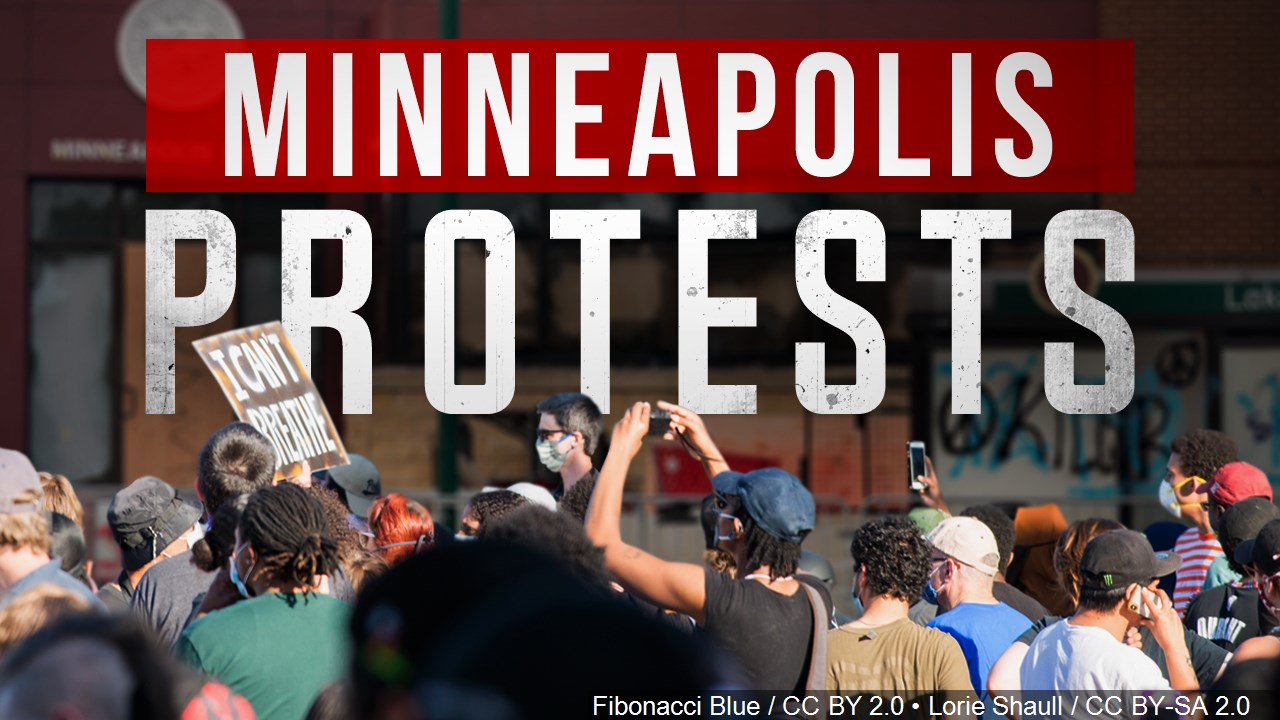 Minneapolis Protests graphic