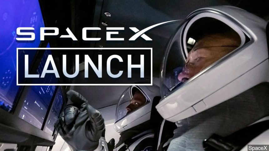 SpaceX Launch graphic - MGN