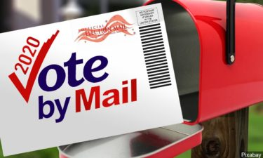 Vote by mail graphic