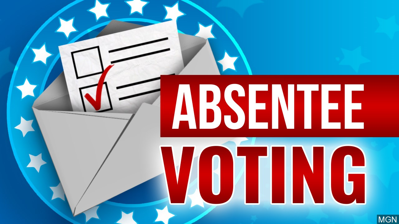 Absentee Voting graphic