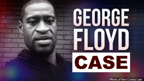 George Floyd case graphic