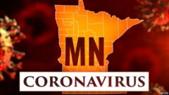 Coronavirus Minnesota graphic