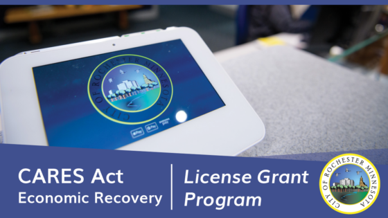 License Grant program graphic