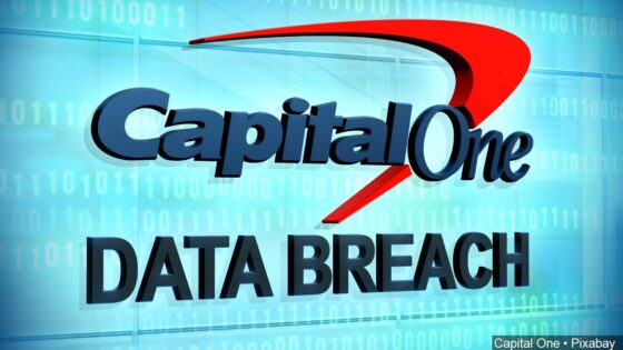 Capitol One data breach graphic