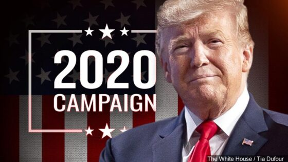 Trump campaign 2020 graphic