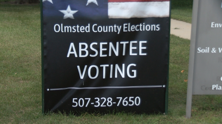 absentee voting poster