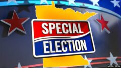 minnesota special election graphic