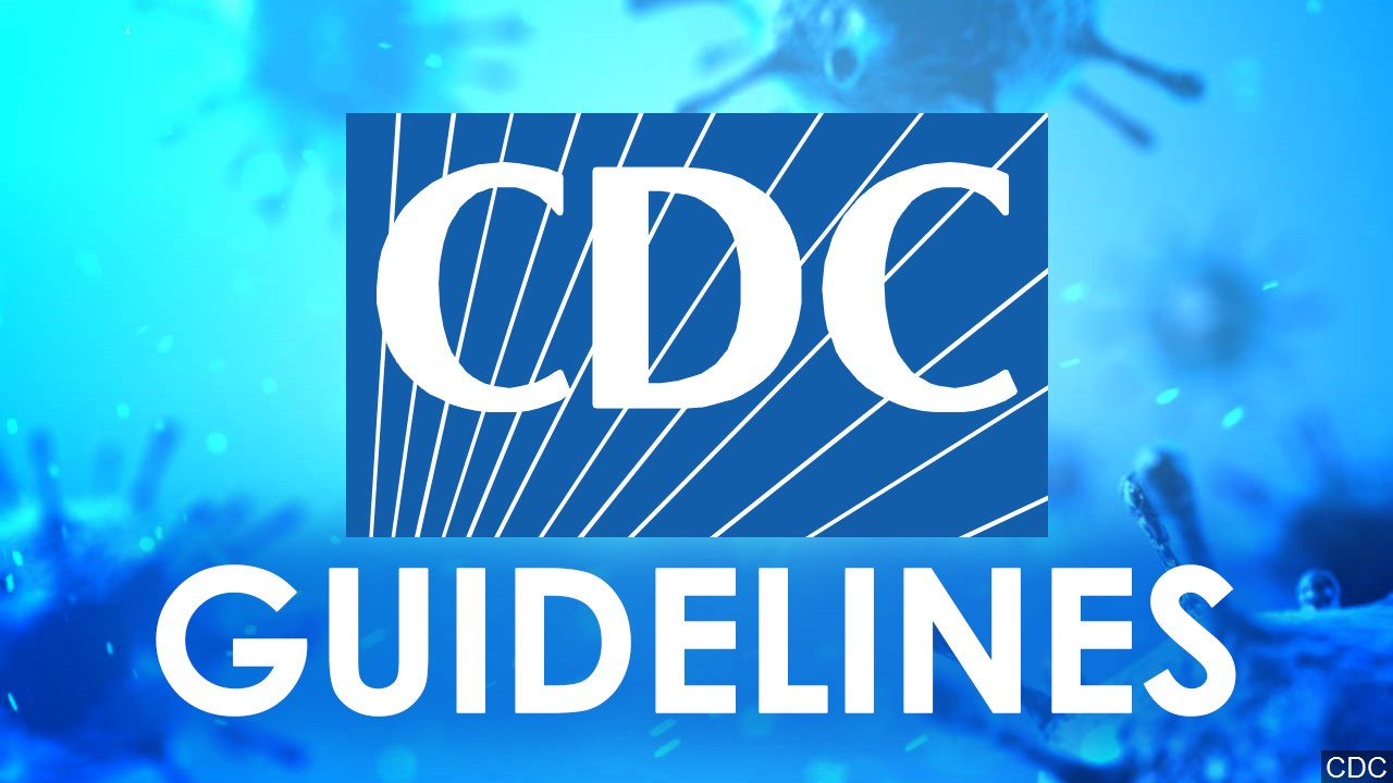 CDC Guidelines graphic