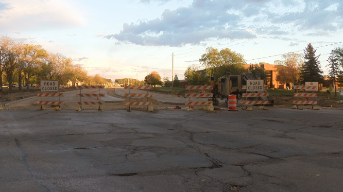 Collegeview Road Construction