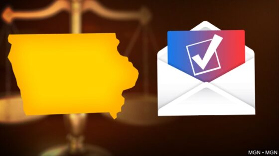 iowa mail vote court graphic