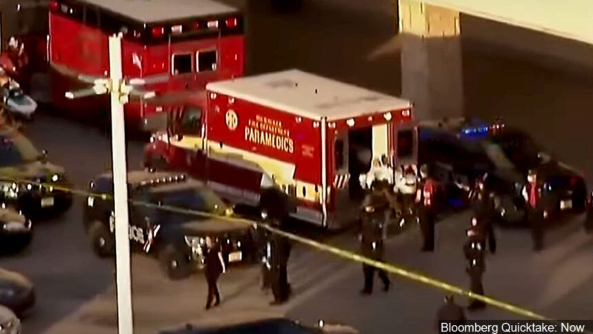 First responders at mall shooting scene