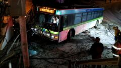 RPT bus crashed into Rochester house