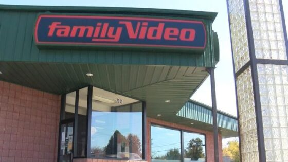 Family Video building