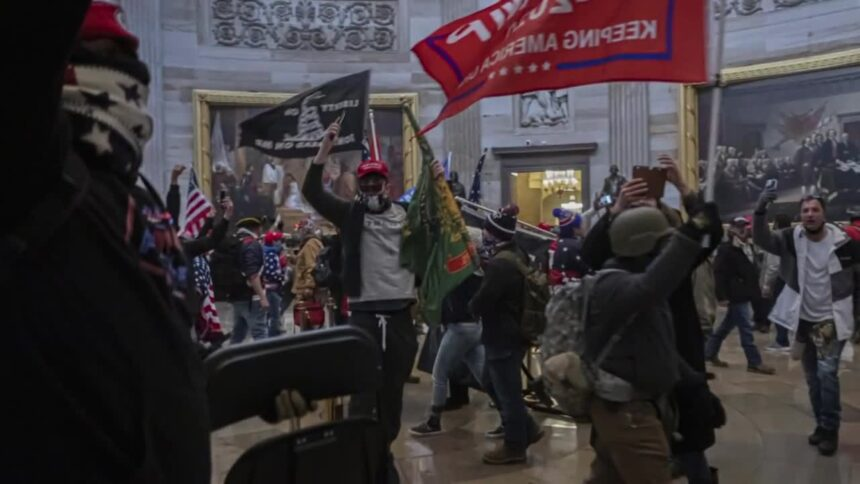 Rioters break into United State Capitol