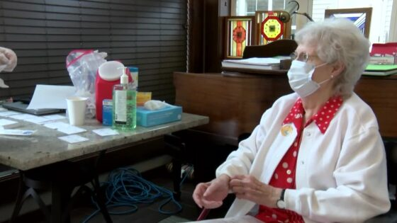 Homestead resident prepares to receive vaccine