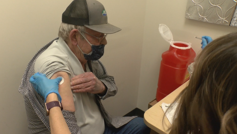 Man received COVID-19 vaccine