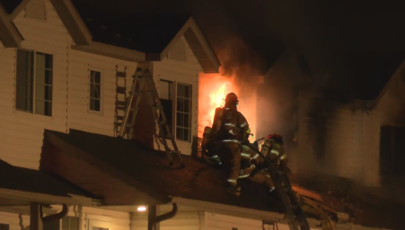 Pine Island Fire Department responded to a townhome fire around 5:30 Thursday morning.