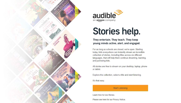 Audible free kids books