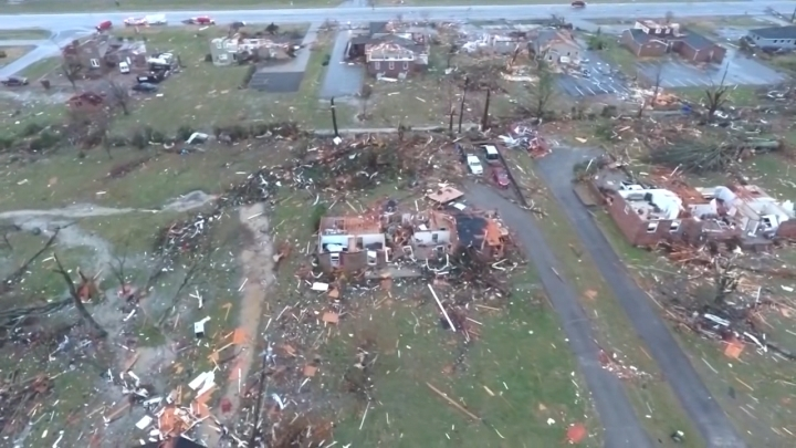 Tennessee tornado damage 2