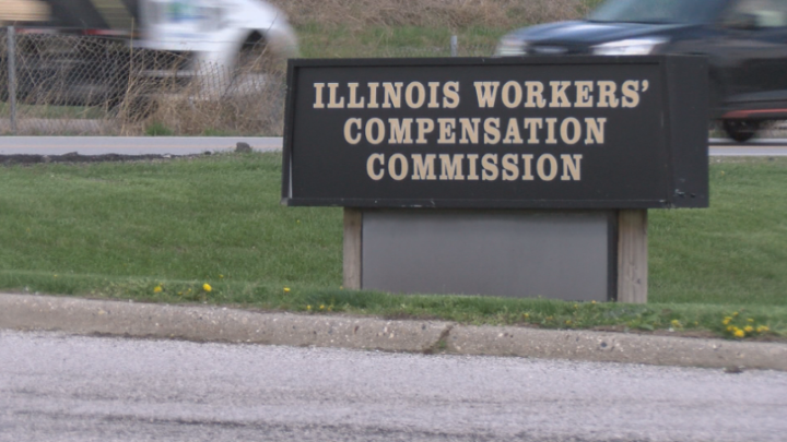Illinois Workers Compensation Commission sign