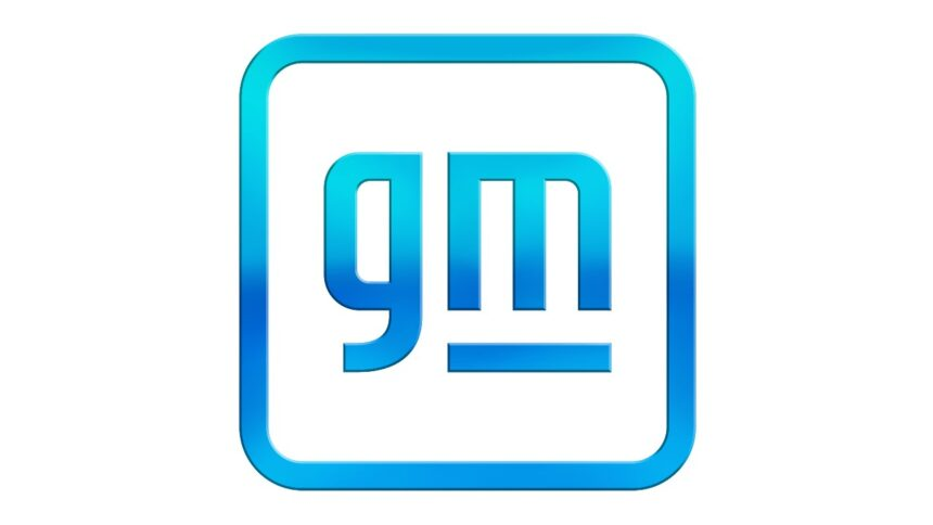 GENERAL MOTORS NEW GM LOGO