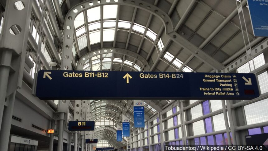 ohare airport, chicago