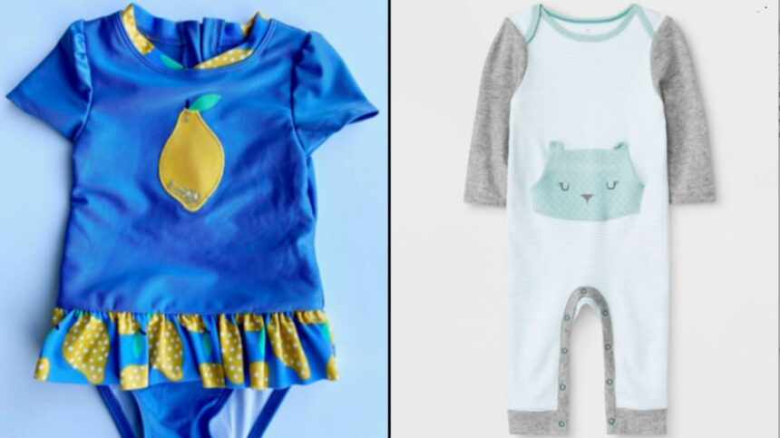 target baby clothes recall