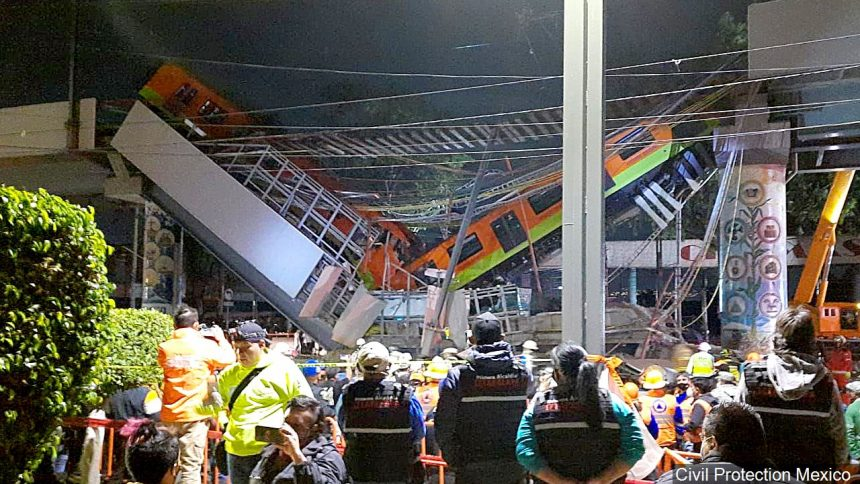 Mexico overpass collapse