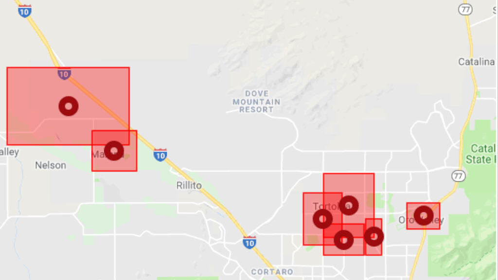 Thousands Without Power Across Tucson