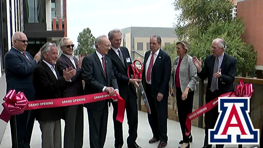 UArizona College of Pharmacy celebrates new center dedicated to breakthroughs in drug research