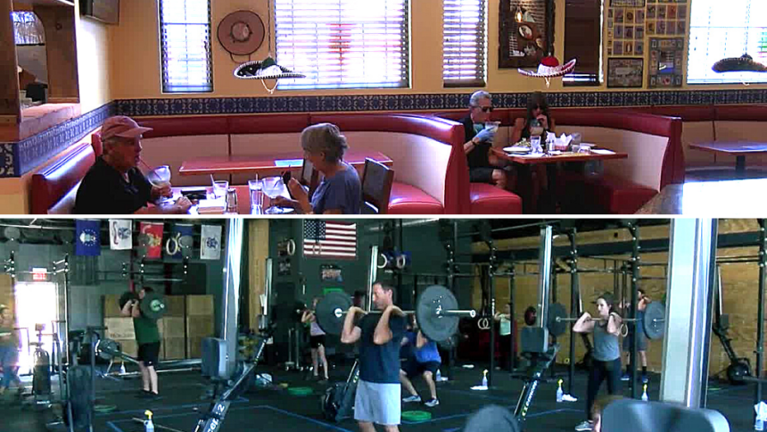 Local Restaurants Gyms Ease Back Into New Normal