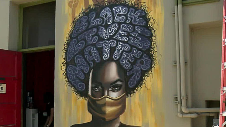 New mural in downtown Tucson honors Black Lives Matter movement