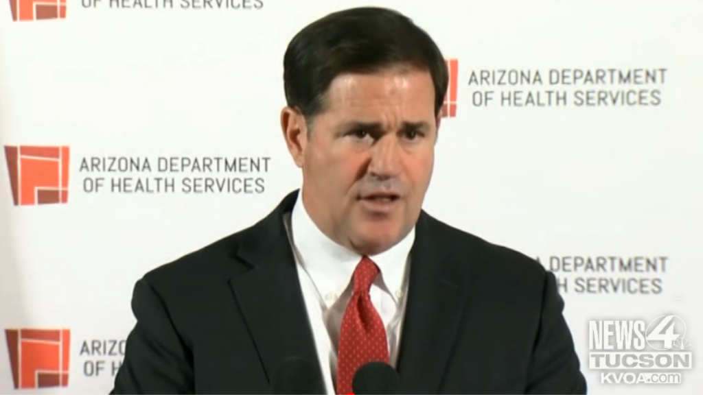 Ducey announces plan to open COVID-19 vaccine registration to 55 and older - KVOA Tucson News