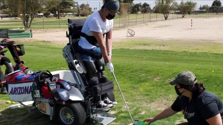 Local adaptive golfer shares inspiring story ahead of TeeItUp Spring Shootout