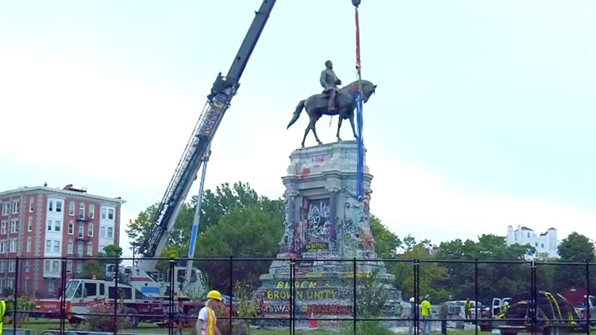 Search Crews Fail to Find 1887 Time Capsule Buried in Robert E. Lee Statue