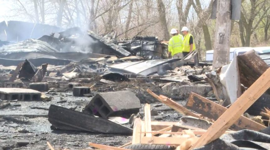 Two sent to hospital after gas station explosion in Earling, IA