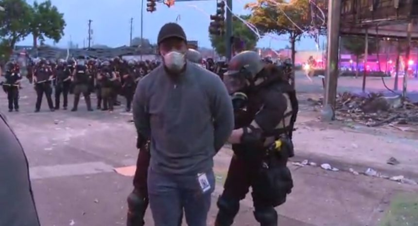 CNN Crew arrested during Minneapolis protests