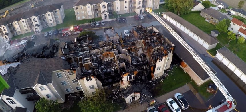 Apartment Fire in SSC, June 4