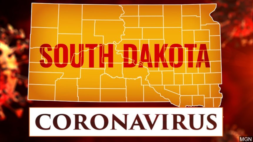 South Dakota, COVID-19 (map)