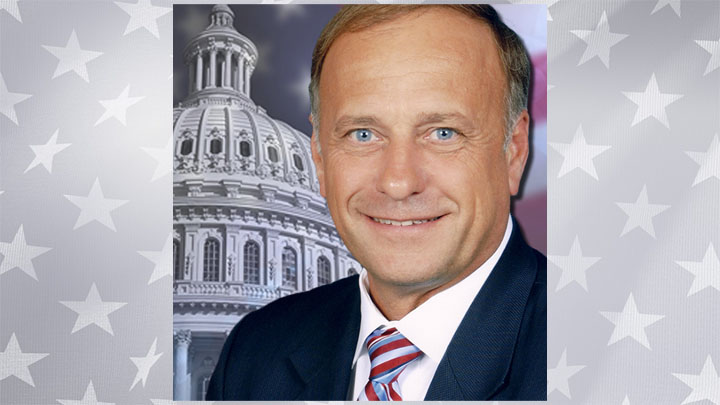 Steve King, election graphic