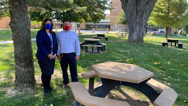 BCU Recycled Picnic Tables 2