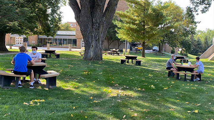 BCU Recycled Picnic Tables 3