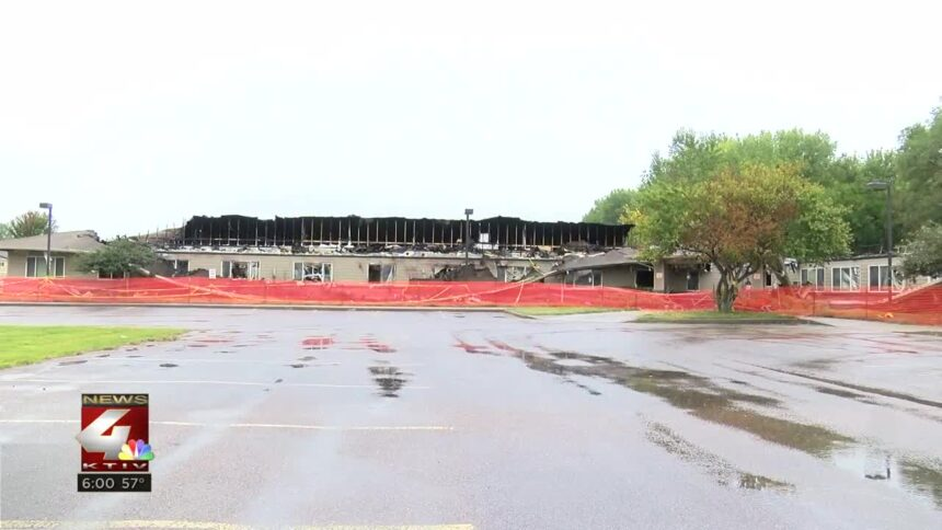 A look at what the Northport Apartments look like today.
