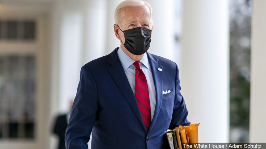Biden with a mask, generic web photo