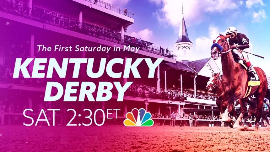 Kentucky Derby NBC Graphic